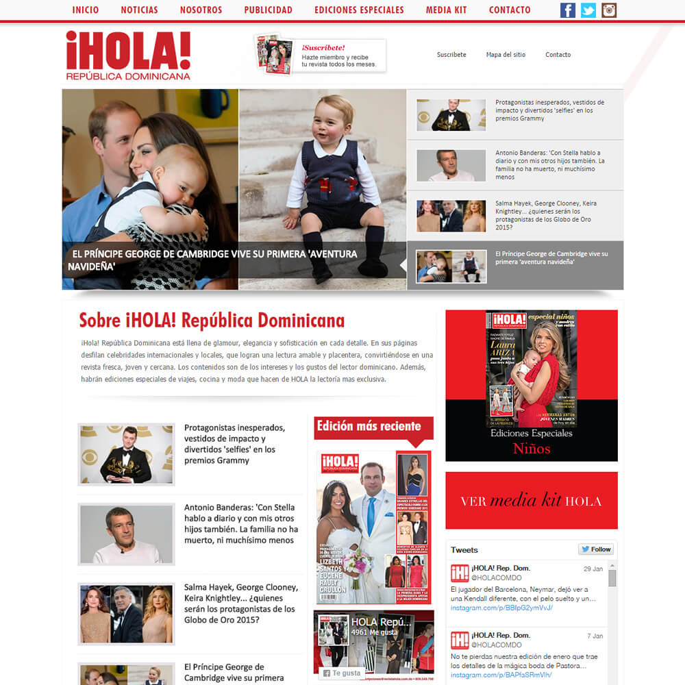Revistahola.com.do