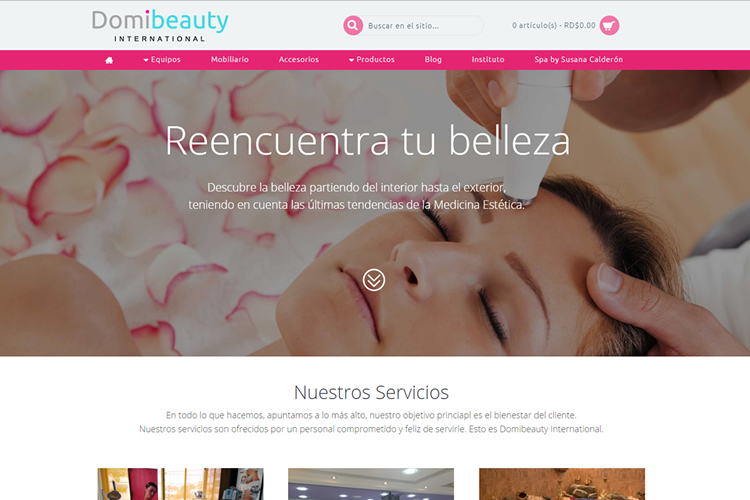 domibeauty.com